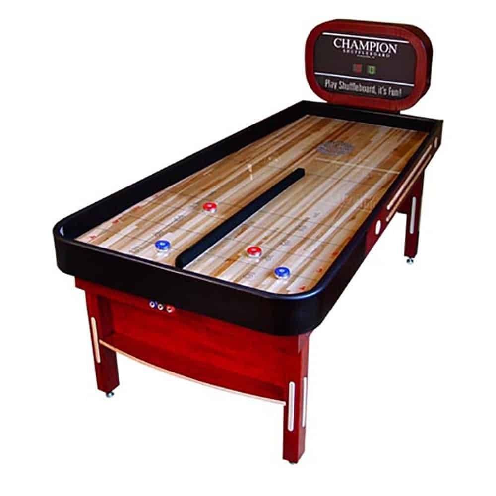 Champion Bank Shot Shuffleboard Table. Champimage