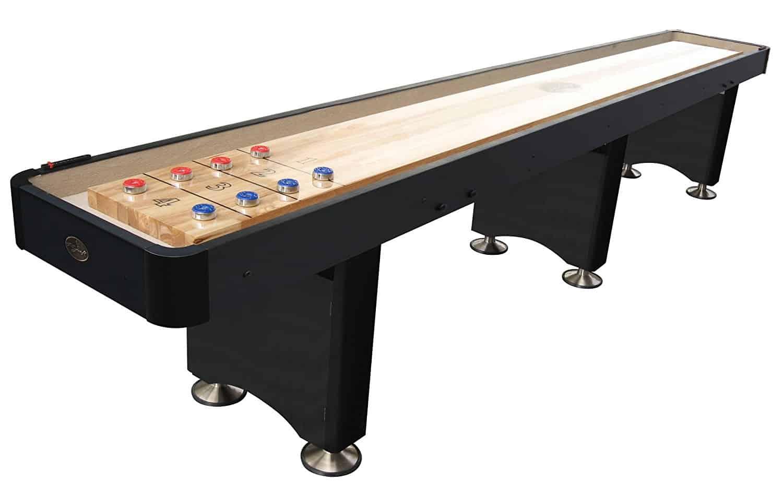 5, Playcraft Woodbridge Shuffleboard Table