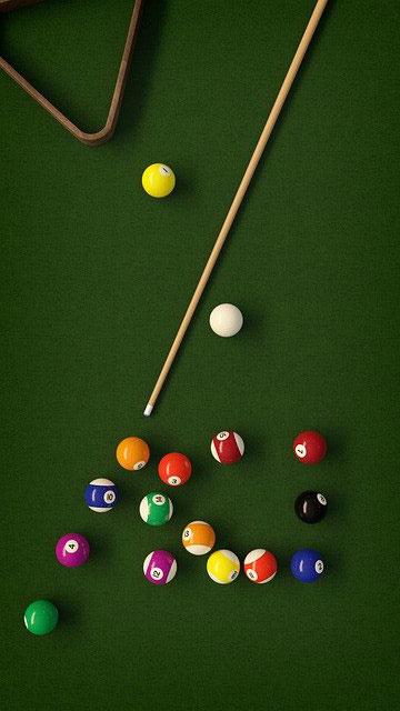billiard-table-top-view