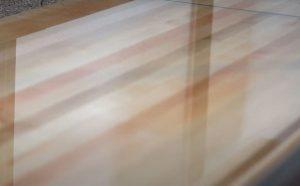 waxed-shuffleboard-surface